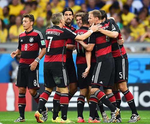 Brazil – Đức: Tan nát vũ điệu Samba 2014 - 1