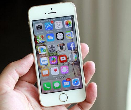 iPhone 5S vẫn có sức hút cực lớn trên thị trường - 1