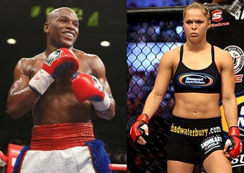"""UFC: Mayweather """"sửng sốt"""" khi nghe tên người đẹp Rousey - 1"""