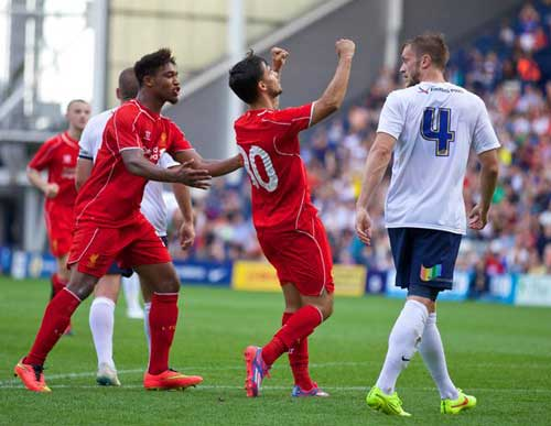 Giao hữu: Liverpool, Chelsea, Arsenal thắng nhọc - 1