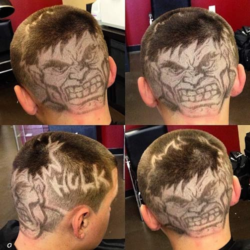 """Thích thú tột độ với những kiểu tóc """"mặt người"""" - 1"""