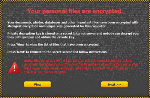 Cẩn trọng với virus mã hóa dữ liệu và đòi tiền chuộc - 1