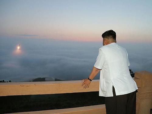Mỹ: Vùng biển Triều Tiên ô nhiễm vì tên lửa - 1