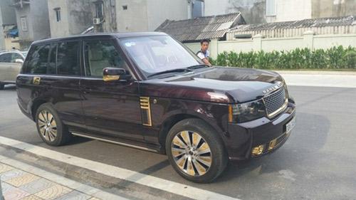 6 xe sang mạ vàng ấn tượng ở Việt Nam - 1