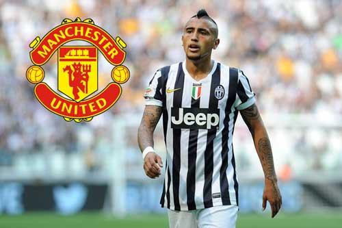 Vidal đang trên đường tới MU với lương khủng - 1