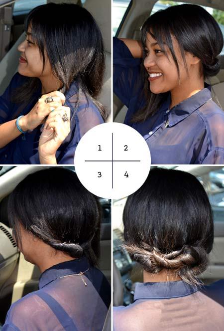 4 kiểu tóc dễ dàng thực hiện trên... xe hơi - 1
