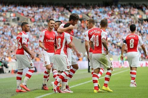 """Arsenal: """"Đại pháo"""" đã gầm vang ở Wembley - 1"""