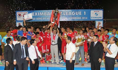 Hạ màn V-League 2014: Điêu đứng vì bán độ - 1