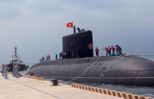 Tàu ngầm Kilo thứ 3 của Việt Nam sắp về nước - 1