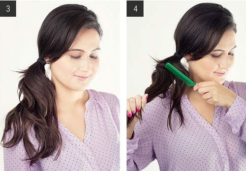 """5 kiểu tóc đơn giản chỉ """"ngốn"""" 5 phút của phái đẹp - 11"""