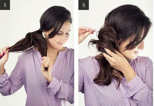"""5 kiểu tóc đơn giản chỉ """"ngốn"""" 5 phút của phái đẹp - 12"""