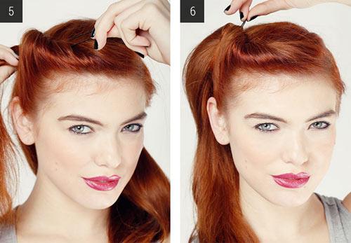 5 kiểu tóc đẹp đơn giản dễ làm ở nhà - 3