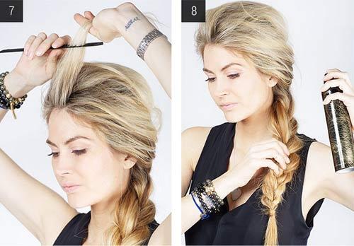 """5 kiểu tóc đơn giản chỉ """"ngốn"""" 5 phút của phái đẹp - 8"""