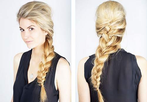 """5 kiểu tóc đơn giản chỉ """"ngốn"""" 5 phút của phái đẹp - 9"""