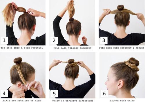 """5 kiểu tóc đơn giản chỉ """"ngốn"""" 5 phút của phái đẹp - 14"""