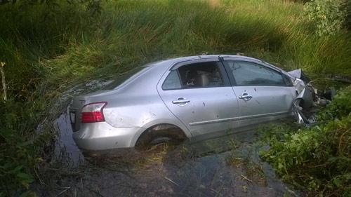 Xác định nguyên nhân ô tô lao xuống kênh, 4 người tử nạn - 1
