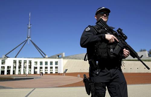 Cảnh sát Úc nổ súng tiêu diệt kẻ dọa giết thủ tướng - 1