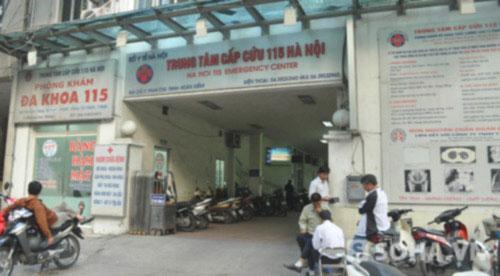 HN: Khởi tố vụ rút ruột bảo hiểm y tế tại TT Cấp cứu 115 - 1