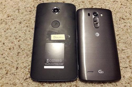 Ảnh thực tế Nexus 6 màn hình 6 inch xuất hiện - 1