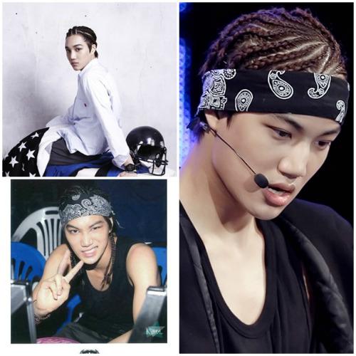 """12 kiểu tóc """"hoang dại"""" khó quên thành viên EXO - 1"""