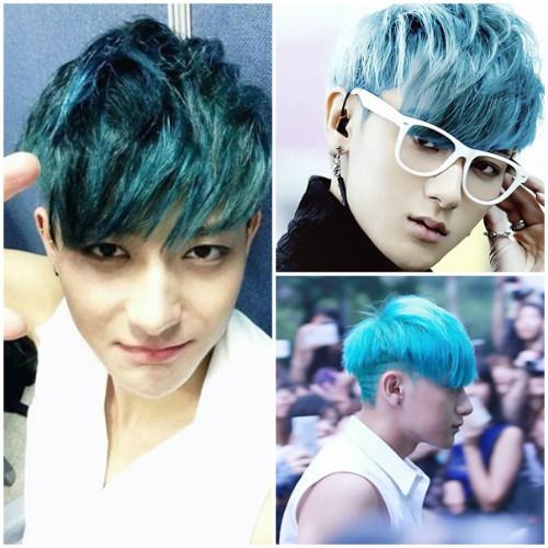 """12 kiểu tóc """"hoang dại"""" khó quên thành viên EXO - 2"""
