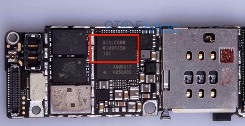 Lộ ảnh iPhone 6S sử dụng modem Qualcomm - 1