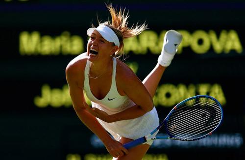"Wimbledon: Loạt biểu cảm ""xấu xí"" của SAO tennis - 1"