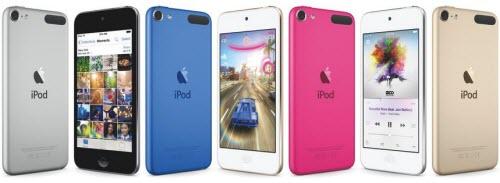 Apple bất ngờ tung iPod touch mới: Có thêm phiên bản màu vàng - 1
