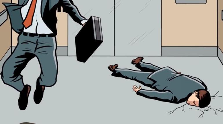 Bạn sẽ làm gì khi thang máy rơi? - 3