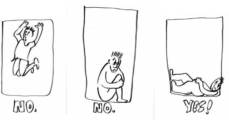 Bạn sẽ làm gì khi thang máy rơi? - 4