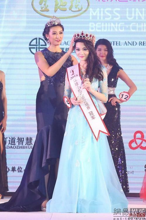Tân hoa hậu Hoàn vũ Trung Quốc gây thất vọng tràn trề - 1