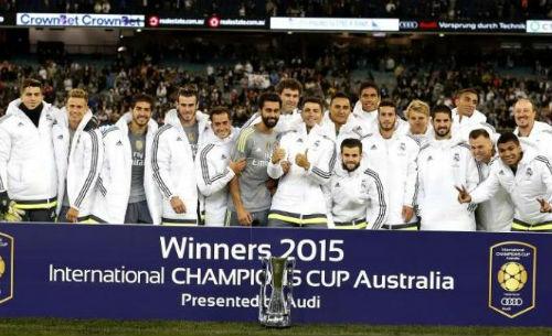 Real vô địch ICC cup: Niềm tin lớn từ danh hiệu nhỏ - 1
