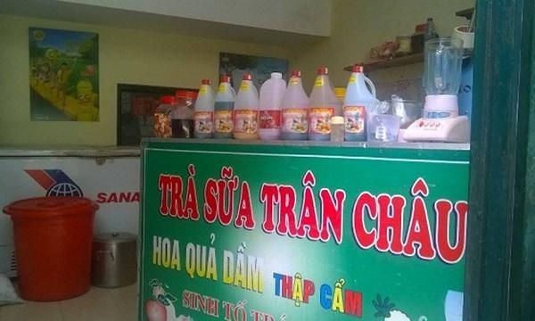 Hãi hùng trà sữa, siro hóa chất TQ siêu lợi nhuận - 1