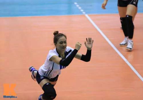 Hot girl Linh Chi muốn giữ VTV Cup ở lại Việt Nam - 1