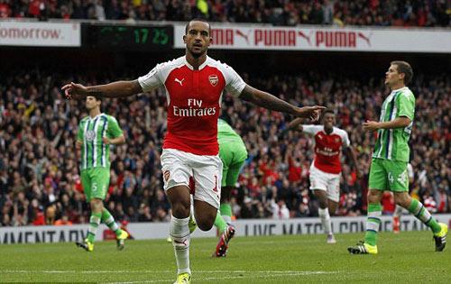 Arsenal - Wolfsburg: Cú hích tinh thần - 1