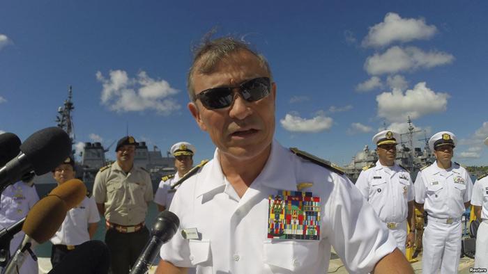 Đô đốc Mỹ: TQ tạo chủ quyền giả trên Biển Đông - 1