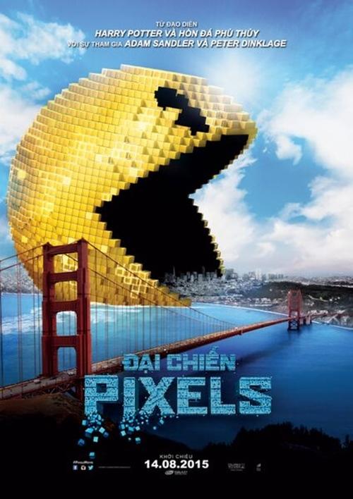"""Tìm hiểu đoàn quái vật xâm lăng trái đất trong """"Đại Chiến Pixels"""" - 1"""