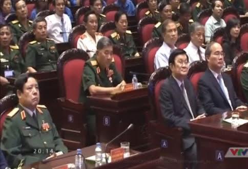 """Đại tướng Phùng Quang Thanh dự chương trình """"Khát vọng đoàn tụ"""" - 1"""