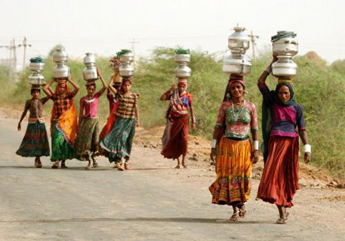 Ấn Độ: Cưới vợ để có người đi lấy nước - 1
