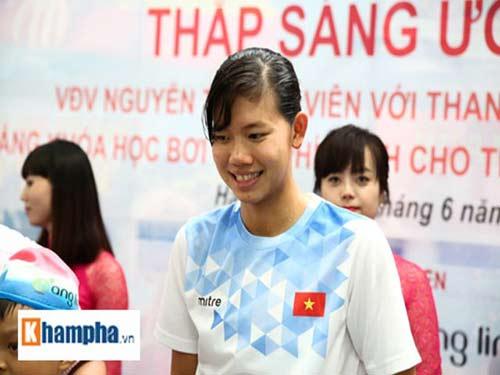 Ánh Viên nhận giải Vinh quang Việt Nam - 1