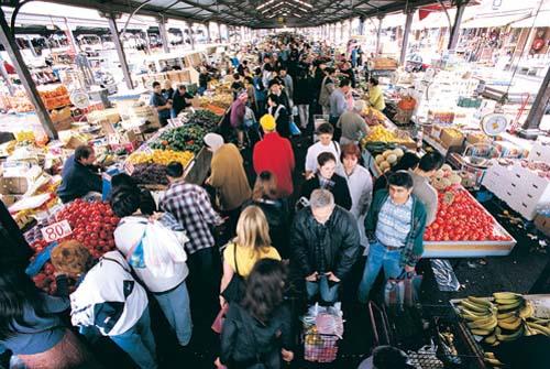 Ghé thăm những khu chợ ẩm thực nức tiếng thế giới - 1