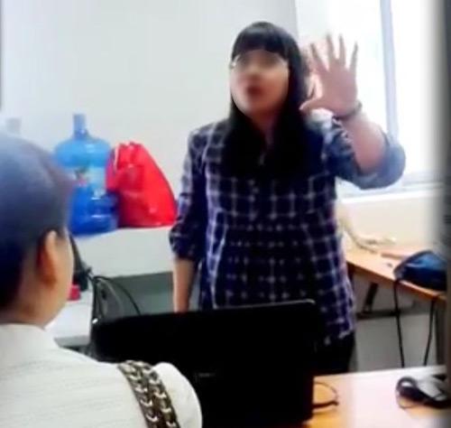 """Clip: Cô giáo cung Bọ Cạp xưng """"mày – tao"""", chửi học viên - 1"""