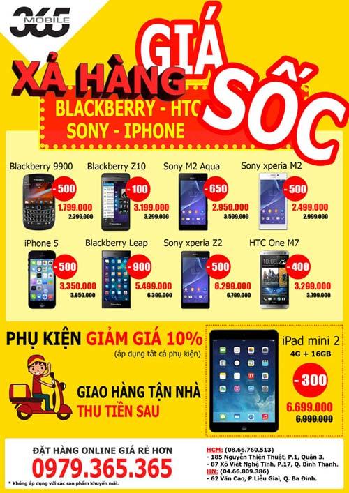"""""""Săn"""" smartphone với giá siêu ưu đãi, chỉ từ 999 nghìn đồng - 1"""