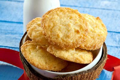 Cách làm bánh quy dừa - 1