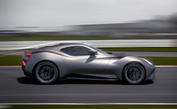 Cận cảnh siêu xe Icona Vulcano do Trung Quốc sản xuất