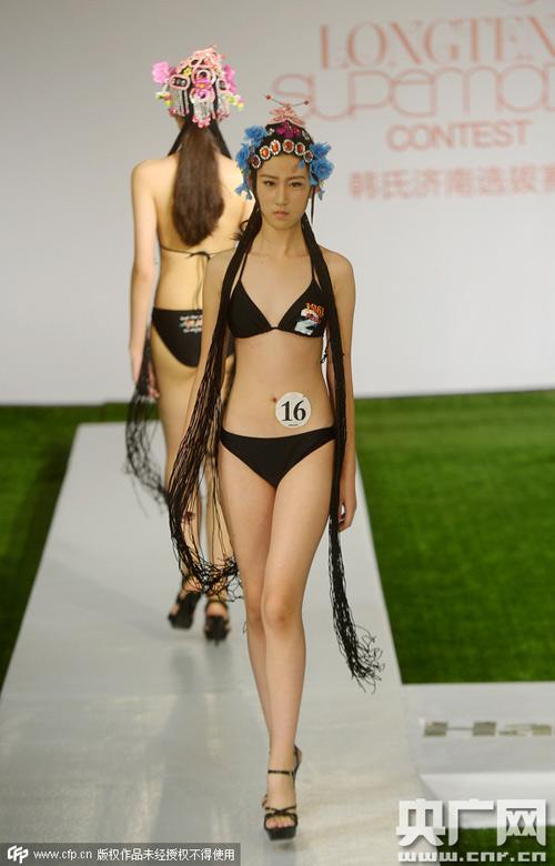 Trung Quốc xôn xao vì người mẫu 12 tuổi cao 1m77 - 1