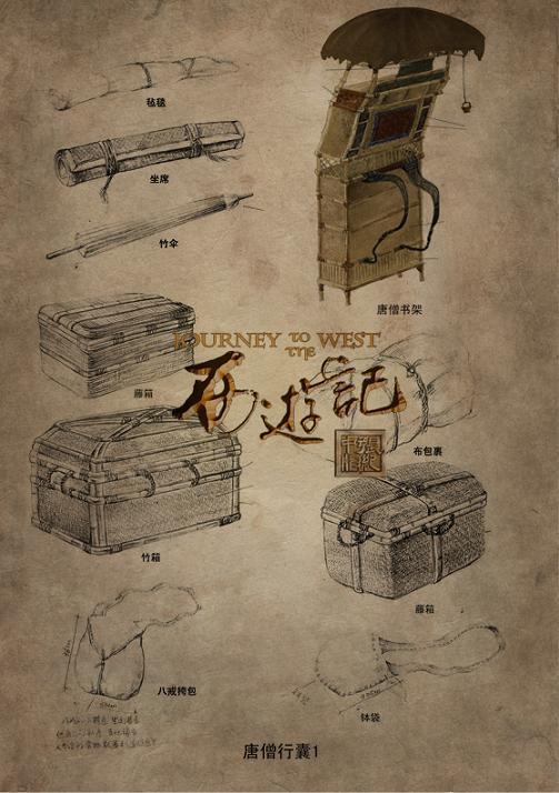 Khám phá những món đồ trong hành lý của Sa Tăng - 2