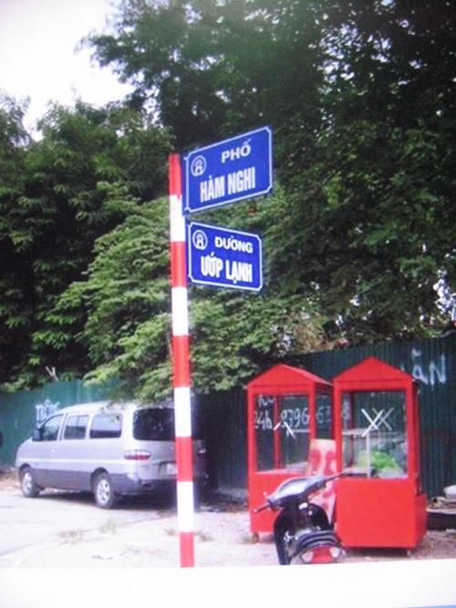 Hà Nội yêu cầu báo cáo việc đặt tên đường phố Ướp Lạnh - 1