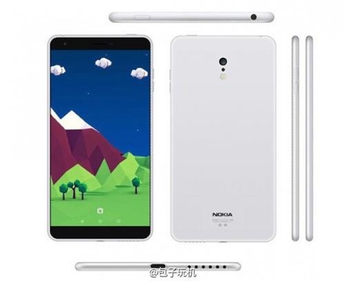 Nokia C1 chạy Android bị lộ ảnh - 1