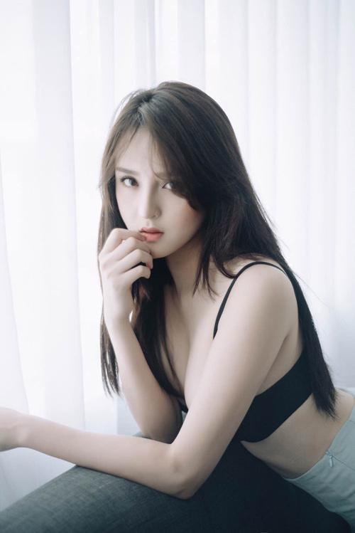 Asian mini skirts breast